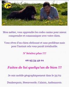 Ludovic educ canin